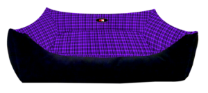 PetEx Lounger Bed purple