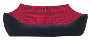 PetEx Lounger Bed red