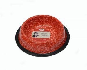 Cat Dish 8 oz 0.22 L – Red Petex