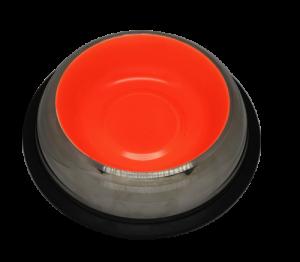 Cat Dish 15 oz 0.45 L – Glowing orange