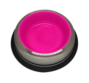 Cat Dish 15 oz 0.45 L – Glowing pink