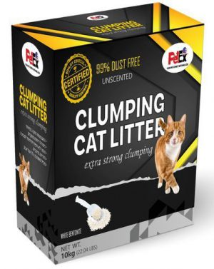 Petex Clumping Cat Litter Un Scented 10 kg