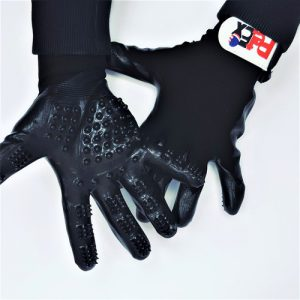 Petex-a pair of silicone gloves for grooming and brushing pets-16-18 cm