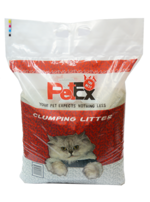 "Petex clumping scented cat litter 16 K""g"