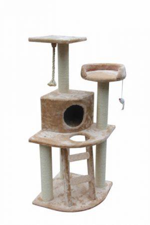 PETEX LIGHT BROWN 3 FLOORS CAT SCRATCHER-SBE2009