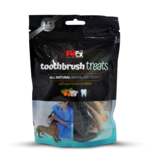Toothbrush – a full dry snack for dogs – designed for cleaning teeth 100 g
