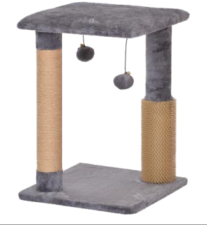 2-story cat scratching device, model HY18184-8
