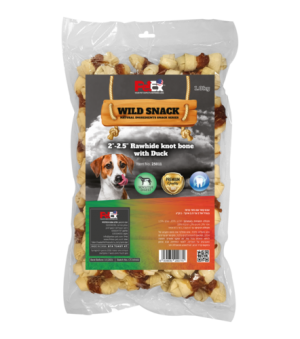 Chewing bones for dog – selected duck meat – 2 to 2.5 inches Package weight 1 kg