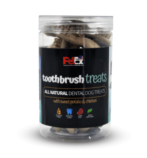 Toothbrush – a full dry snack for dogs – designed for cleaning teeth 300 grams