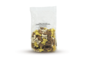 Puppy Treats Vanilla Whole food for puppies rich in dietary fiber 200 grams