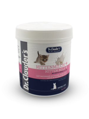 Dr. CLAUDERS A food supplement, a milk replacer for kittens