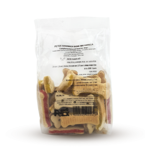 Bon mix vanilla sandwich, whole food for adult dogs, vegetable biscuit for a dog 200 grams